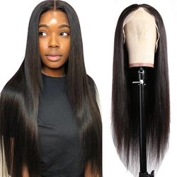 Parrucca per capelli lisci Maxine Remy 13x4 parrucche per capelli umani anteriori in pizzo per donna parrucca frontale per capelli umani al 150%