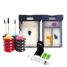 Vilaxh HP301 301XL Ajuste de Tinta para HP 301 XL Cartucho de Tinta para Impressora HP Envy 5530 5530 4507 Deskjet 2510 4502 1000 2540 2546