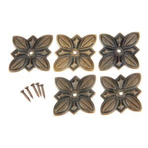 50Pcs 30x27mm Antique Bronze Furniture Upholstery Nail Tachas Jewelry Gift Case Box Door Sofa Decorative Tack Stud Pushpin