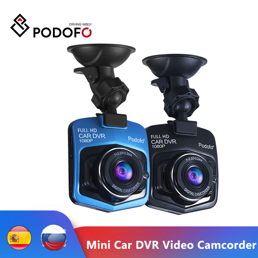 Podofo Mini Car DVR GT300 Camera Camcorder 1080P Full HD Video registrator Parking Recorder Night Vision G sensor Dash Cam DVRs|full hd video registrator|dvr gt300parking recorder - AliExpress
