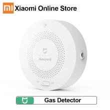 Xiaomi Mijia Honeywell Natural Gas Alarm Detector Sensor Work With Multifunction Gateway 2 Smart Home Security APP Control