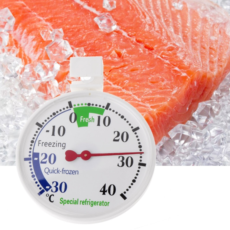 New Refrigerator Freezer Thermometer Fridge Refrigeration Temperature Gauge Home use Measurement Analysis Instruments