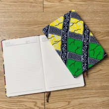 african accessories ankara Notebook Planner Agenda Diary Hard Cover Yearly Monthly Planning Papers Journal Daily Mem