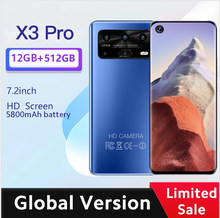 X3 pro Smartphone Android 7.2