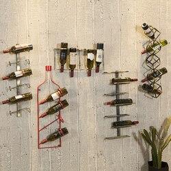 Creativo Armadietto del Vino di trasporto retro Style Industrial Bar Decorazione Tieyi Vino Rosso Vino Rack Creativo Vino Armadietto del Vino Rosso Cremagliera CF