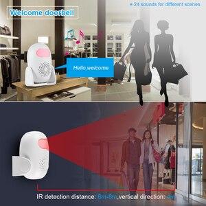 Image 5 - KERUI M120 Smart 100db PIR Infrarot Anti Diebstahl Einbrecher Willkommen Multifunktions Menschliches Motion Detektor Für Garage Shop Home Security