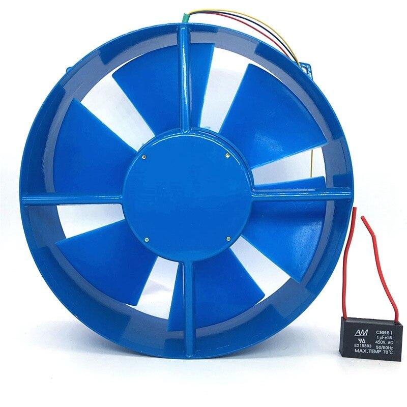 200FZY2 D Single Flange AC220V 65W Fan Axial Flow Fan Fan Electric Box Cooling Fan Wind Direction Adjustable|Exhaust Fans| |  -