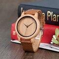 BOBOBIRD Lovers брендовые дизайнерские бамбуковые деревянные часы японские iyota кварцевые часы с ремешком из натуральной кожи в подарочной коробке