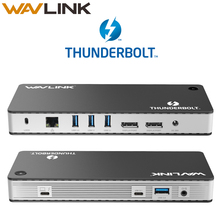 [Intel Certified] Thunderbolt 3 USB C Dual 4K@60Hz Docking Station Video Display USB C Power Delivery up to 60W For MacBook Pro