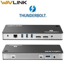 Док станция Thunderbolt 3, [Сертификат Intel], Двойная док станция 4K @ 60 Гц с видеозвуком, мощность доставки до 60 Вт, для MacBook Pro, с возможностью подключения к ноутбуку