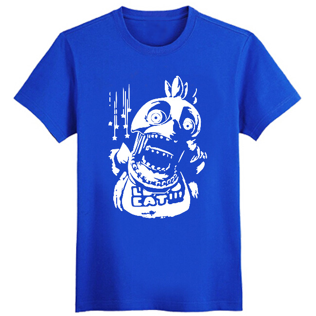 Five Nights At Freddy horror Men T Shirts Cute Cartoon T shirts Letter Printed Male Tshirts Short Sleeve O Neck Tees Dress in T Shirts from Men 39 s Clothing