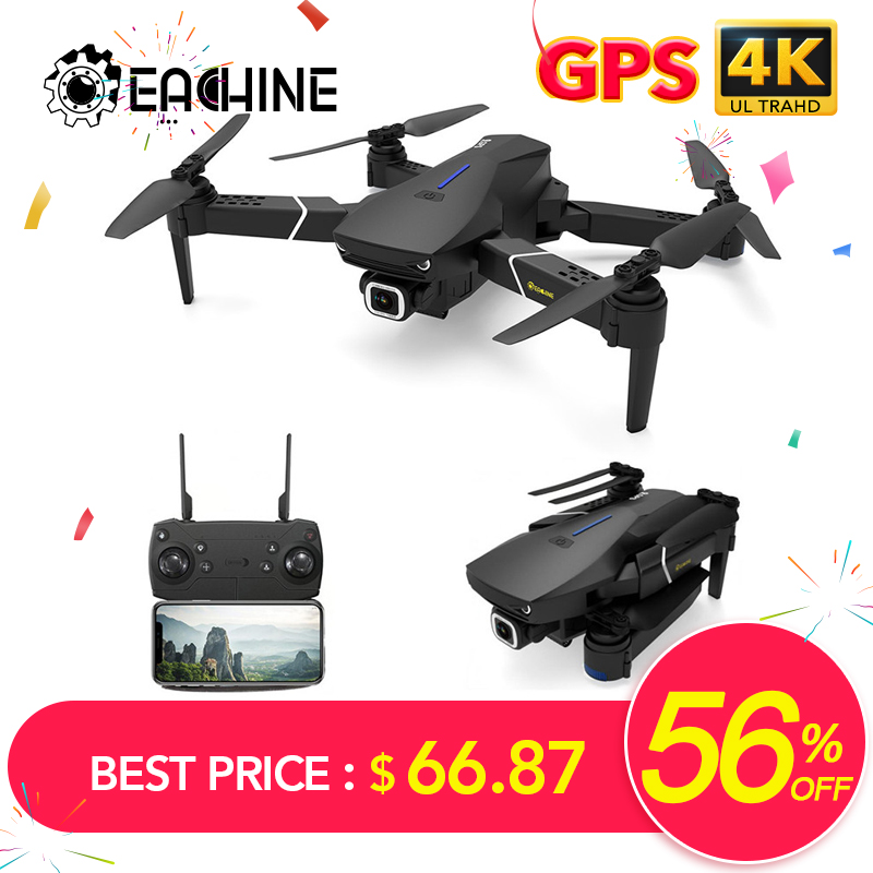 Eachine E520S GPS FOLLOW ME WIFI FPV Quadcopter With 4K 1080P HD Wide Angle Camera Foldable