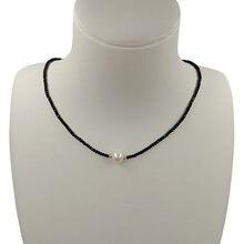 100% натуральный пресноводный жемчуг necklace aaaa хорошего