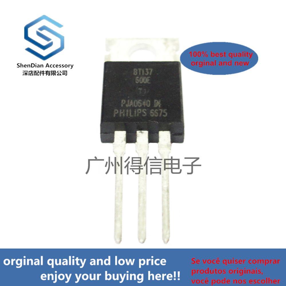 10pcs 100% Orginal New BT137-600E BT137 TO-220 Triacs Sensitive Gate Real Photo