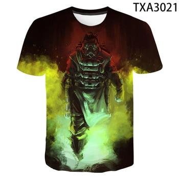 2020 New Summer 3D T Shirts Apex Legends Casual Men Women Children Fashion Short Sleeve Boy girl Kids Printed T-shirt Tops Tee 1