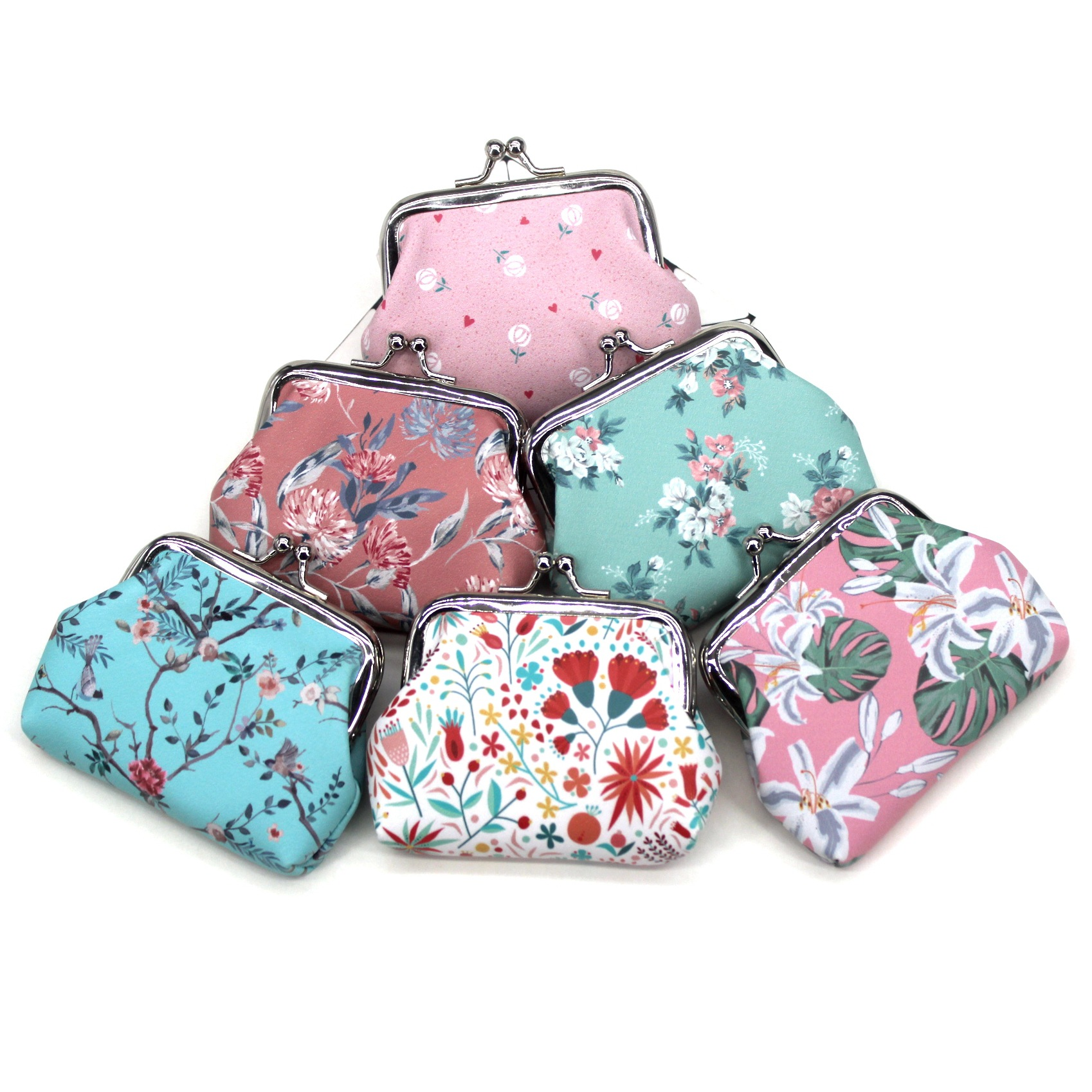 Girls Coin Purses Women Printing Mini Wallets Kids Cute Hasp Money Bag Ladies Clutch Change Purse Children Pouch Female Carteira