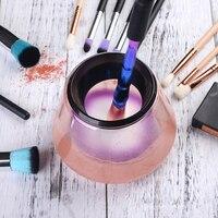 Makeup Brush Cleaner & Dryer Set Electric Make Up Brushes Washing Tool Makeup Brush Cleaner&Dry In Seconds Protect Bristle