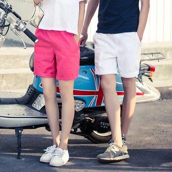 Pantalones cortos básicos de verano LEGIBLE para mujer, pantalones cortos clásicos de pierna ancha para mujer, cómodos pantalones cortos sueltos de algodón para mujer