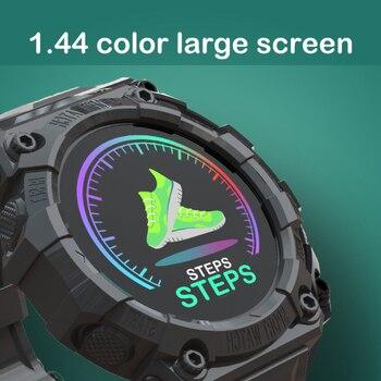 2021 Smart Watch Men Women Heart Rate Fitness Tracker Bracelet Watch Blue.tooth Waterproof Sport Smartwatch For Android IOS 3