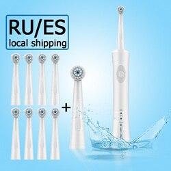 Escova de dentes elétrica recarregável escova de dentes elétrica escova de dentes oral higiene dental care eletrônico crianças escova de dentes sonic 5