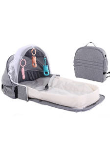 Portable Baby Mosquito-Net Sleeping-Basket Sun-Protection Travel Bed for with Toys