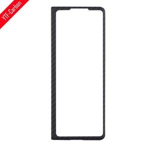 Image 1 - YTF פחמן אמיתי סיבי פחמן מקרה עבור Samsung Galaxy Z פי 2, ארמיד סיבי Slim עיצוב קדמי כיסוי או חזרה כיסוי טלפון פגז