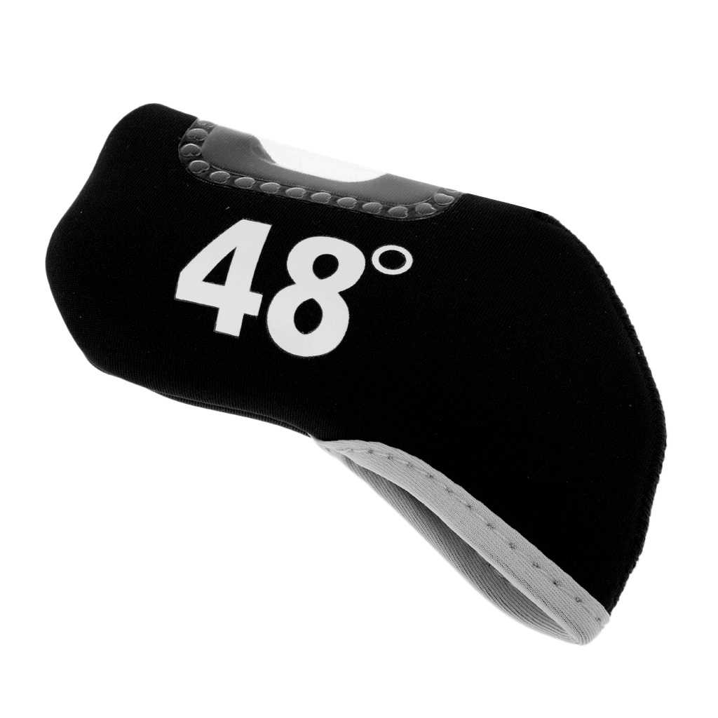 1 sztuk Premium neoprenowy Golf Club żelaza miotacz Headcover głowy obudowa ochronna skarpety biegów akcesoria wymienne Golf miotacz Protector