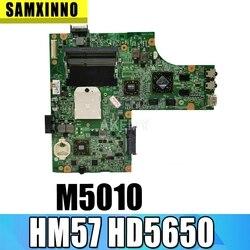 M5010 para DELL inspiron 15R M5010 CN-0HNR2M 0HNR2M 09909-1 48.4HH06! 011 HM57 HD5650 GPU de la prueba original de la placa base
