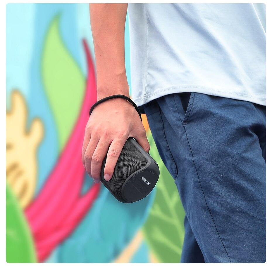 Tronsmart T6 Mini TWS Bluetooth 5.0 Speaker IPX6 Waterproof Wireless Speaker 24 Hours Play Time Outdoor Portable Speaker 15W (8)