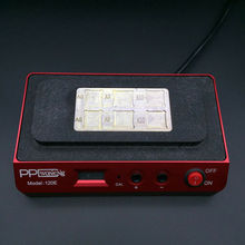 PPD 120E Reballing Schablone löten station für iPhone BGA NAND chipsätze A8 A9 öffnen CPU BGA NAND intelligente entlöten werkzeuge
