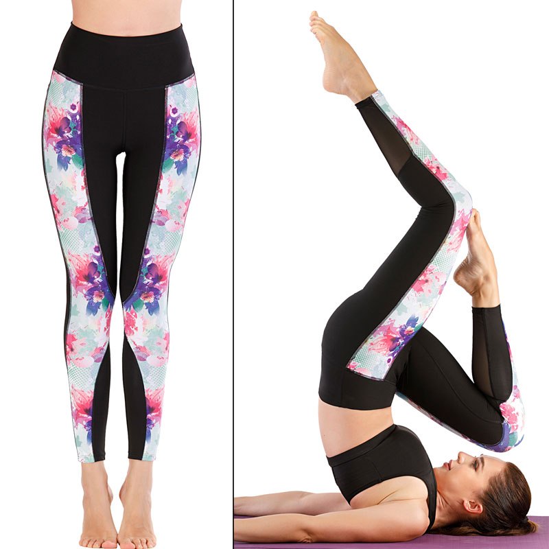 Women's Workout Leggings Stretchy Capris for Running Swimming Surfing Snorkeling Sports Yoga Fitness Rash Guards Pants