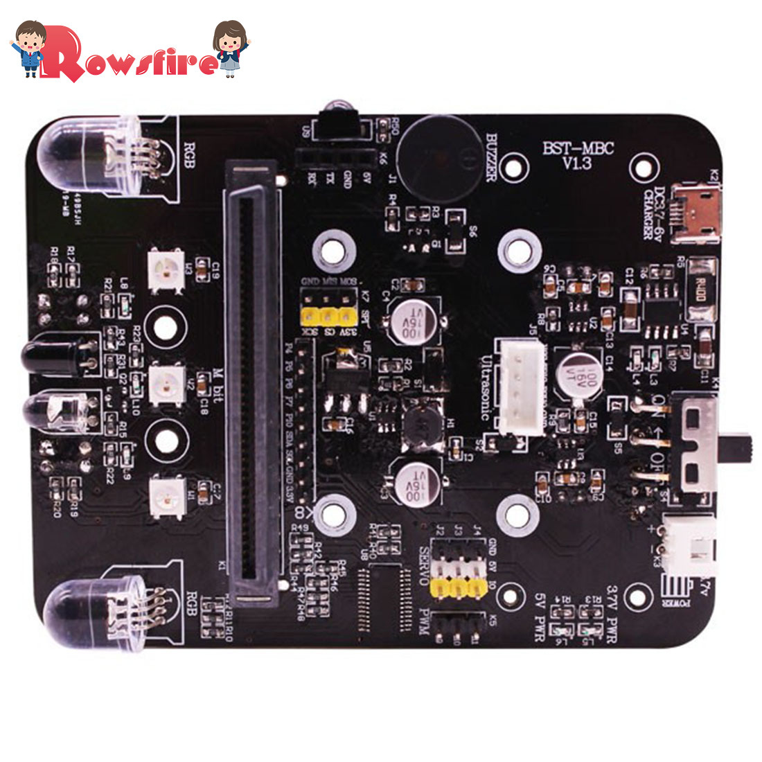 High Recommend 1 Pcs Multifunction Expansion Board Learning Kit For Stem Maker Education Just The Board Kit
