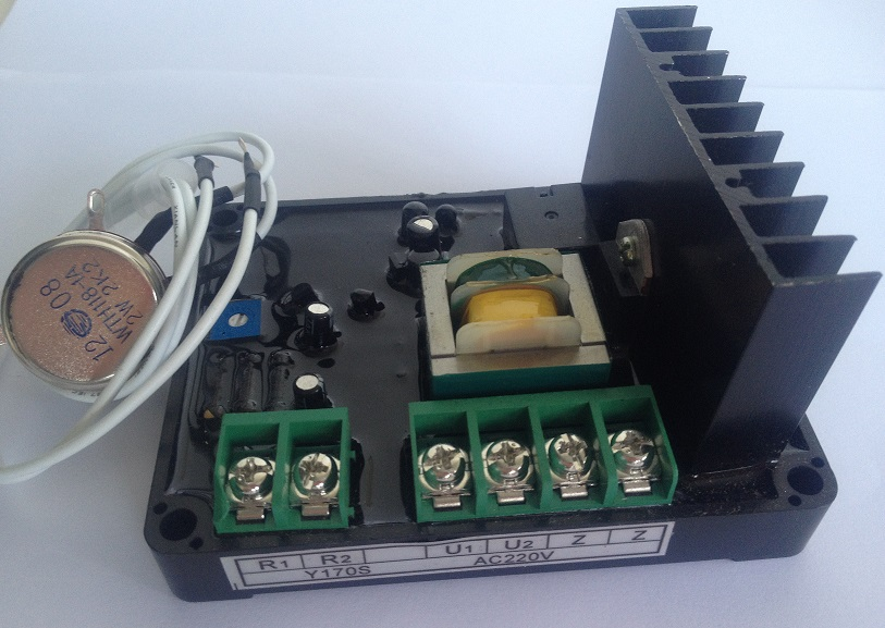 GUFA GF-Y170S Single / Three-phase Harmonic Excitation Regulator Automatic Voltage Regulator Generator AVR