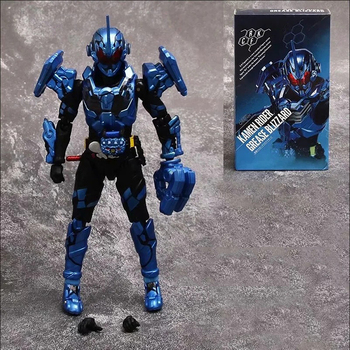 15cm Masked Rider Kamen Rider GREASE BLIZZARD Action Figure Kamen Rider PVC Collection Model Figures Toys сланцы rider rider ri163amdqvf1