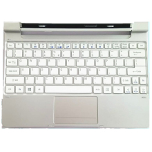 Laptop Keyboard ACER Palmrest for United Upper-Case-Cover ICONIA Silver States-Edition