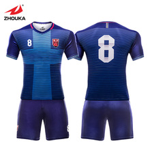 2019 New Custom Jerseys Soccer Sets For Men Camisetas De Futbol Football Shirts Breathable KitS Uniform