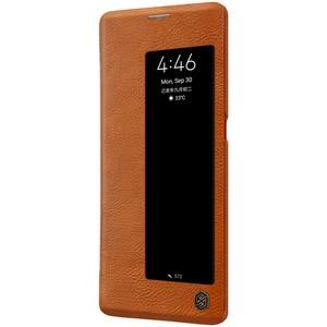 Image 5 - Yeni Huawei Mate 30 Pro durumda NILLKIN PU Flip akıllı kılıf için Huawei Mate 30 Pro kapak cüzdan deri uyku fonksiyonu