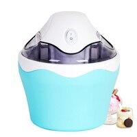 220V Household Ice Cream Maker Ice Cream Machine Portable Ice Maker Ball Available Easy Operation Frozen Fruit Ice Cream Maker
