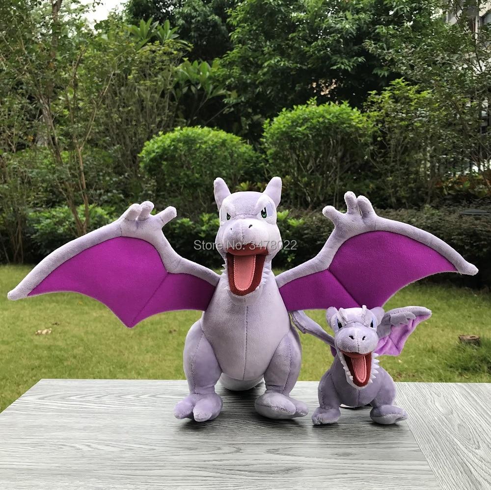 2X Sizes Aerodactyl Plush Toys Dragon Cartoon Collection Stuffed Toy Soft Doll