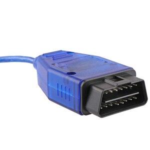Image 3 - VAG USB OBD2 16PIN Diagnose Kabel Kkl Scanner Interface für Audi Fahrzeug 409 Interface Auto ECU Überprüfen Gerät FT232RL CH340