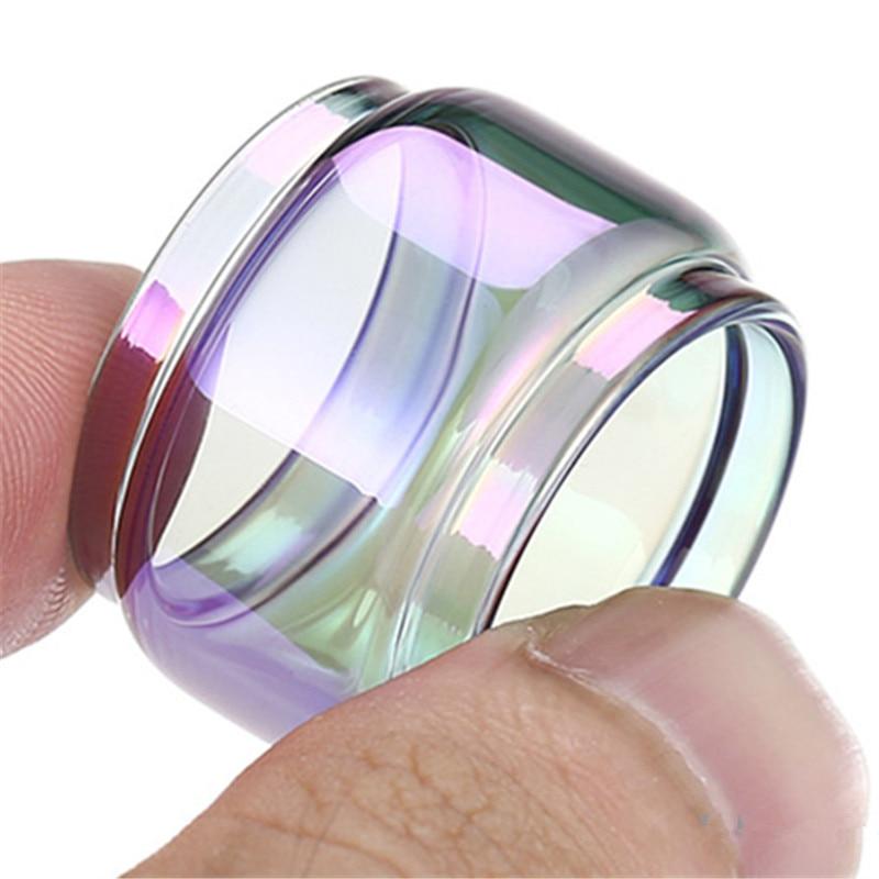 2pcs FATUBE Rainbow Bubble Glass TUBE for ZEUS X MESH/Zeus Dual RTA 4ml/ZEUS X 4.5ml/Zeus Sub Ohm Tank 5ml 3
