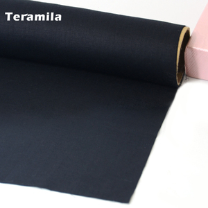 100% Cotton Fabric High Quality Classica Solid Black Color White Twill Fat Quarter Home Textile Quilting Patchwork Coth Telas