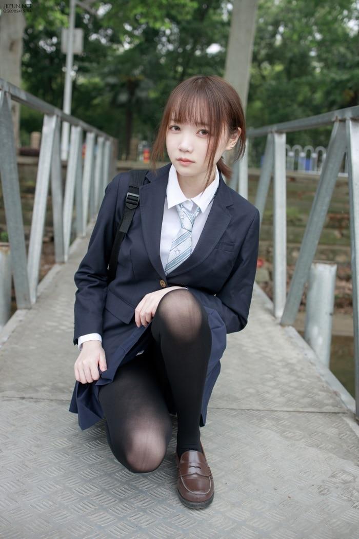 ★森萝财团★– JKFUN-006 Aika 日系黑丝 [140P/1V/2.90GB]插图1