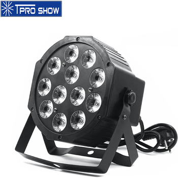 12x12W PAR LED RGBWA UV Light Dmx LED Par Wash Lights 6in1 Chip DJ Lighting Effect For Party Show Disco Sound Auto Control Mode