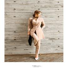 Новинка 2020 модный высококлассный облегающий Повседневный костюм