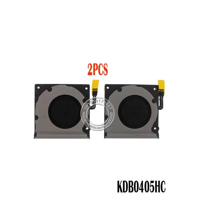 2PCS Laptop Cpu Cooling Fan FOR Microsoft Surface Pro 2 PRO2 KDB04105HB-CK91 5v 0.4A KDB04105HB CK91