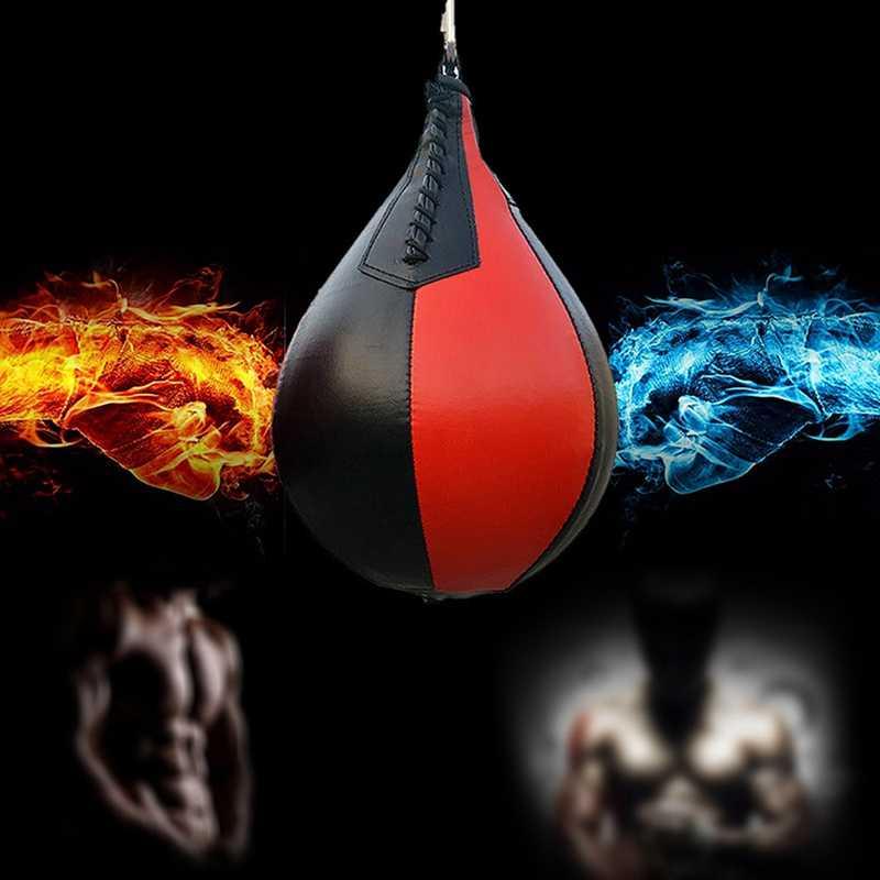 Hot HG-Melawan Tinju Pear Meninju Tas Gym Tinju Meninju Bola Kecepatan Tinju Aksesoris