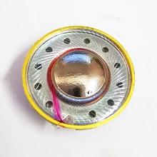 15,4 мм 64 Ом композитные титановые наушники драйверы Плоские наушники DIY для MX500 динамик блок 120 дБ/Вт