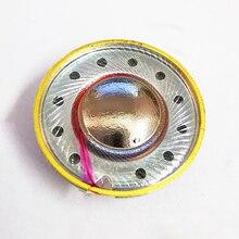 15.4 مللي متر 64 أوم المركبة التيتانيوم سماعات السائقين شقة سماعة DIY بها بنفسك ل MX500 رئيس وحدة 120dB/ث