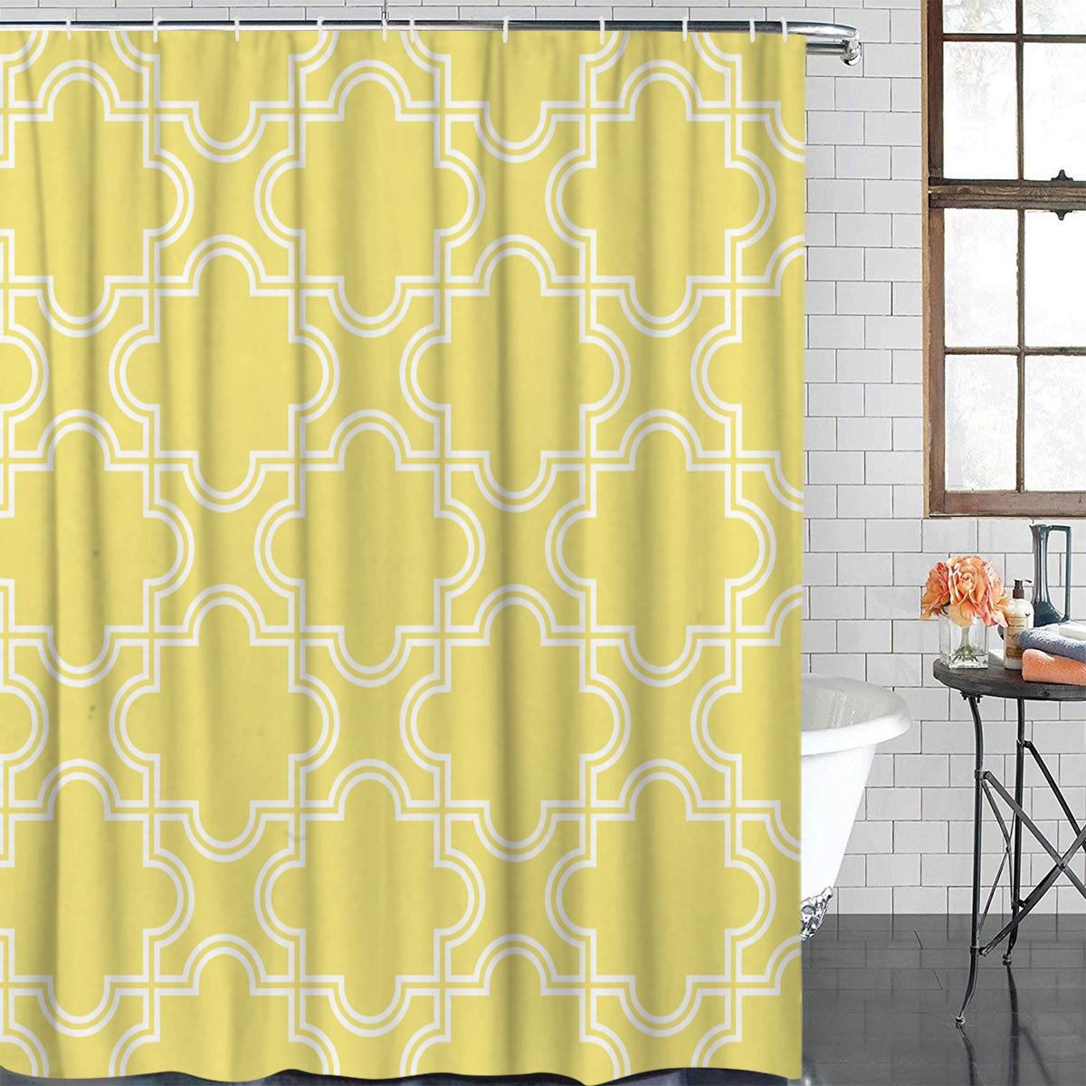 Dragón Chino Decoración Cuarto De Baño Tela Impermeable Forro de cortina de ducha Felpudo Alfombra